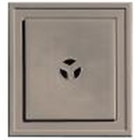 "5""x6"" Mounting Block Deep MossVinyl,Trim Ring, Builders Edge - Superior"